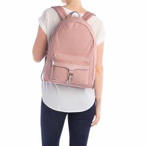 Rebecca Minkoff Always On MAB Pink Backpack